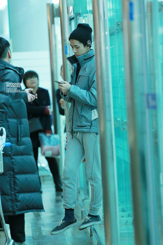 sehun @ incheon airport