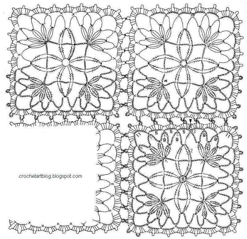 Lace Tablecloth More …   crochet   Pinterest   Arte ganchillo ...