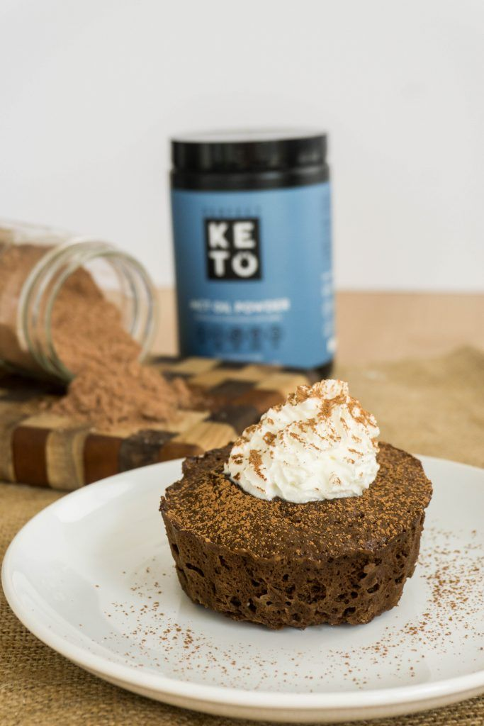 Chocolate Mug Cake Mix | Perfect Keto MCT Powder | Recipe ...