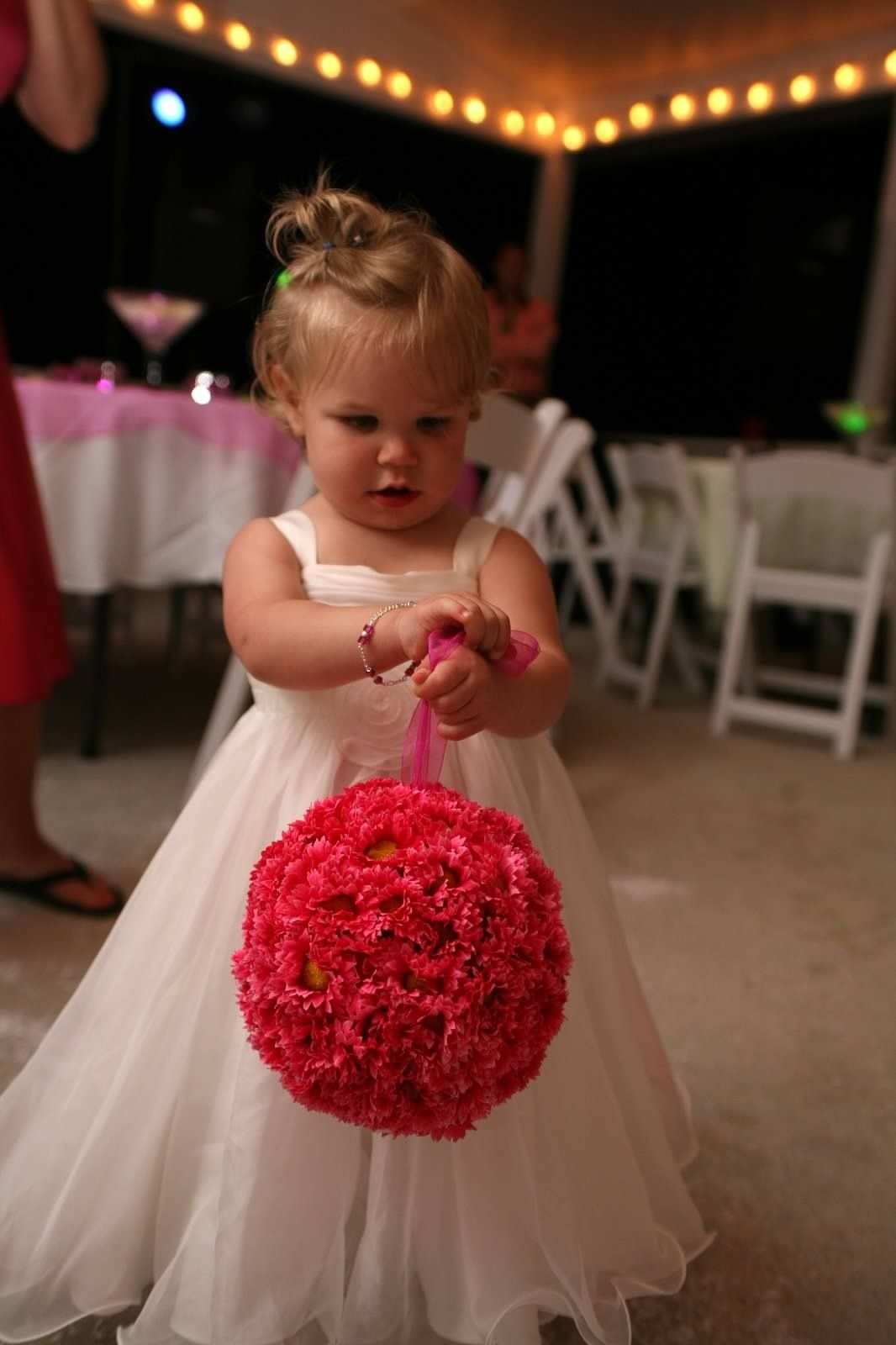 Barn wedding venues near joplin mo  Flower Bouquet Balls I made for the Matron of Honor Bridemaids were