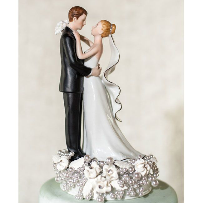 Wedding Cake Toppers Vintage: Vintage Wedding Cake Toppervintage Cake Toppers White And