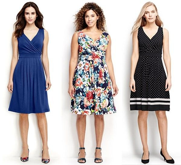 00a3814baaad Summer Must-Have  Fit and Flare Dresses from Lands  End - This is