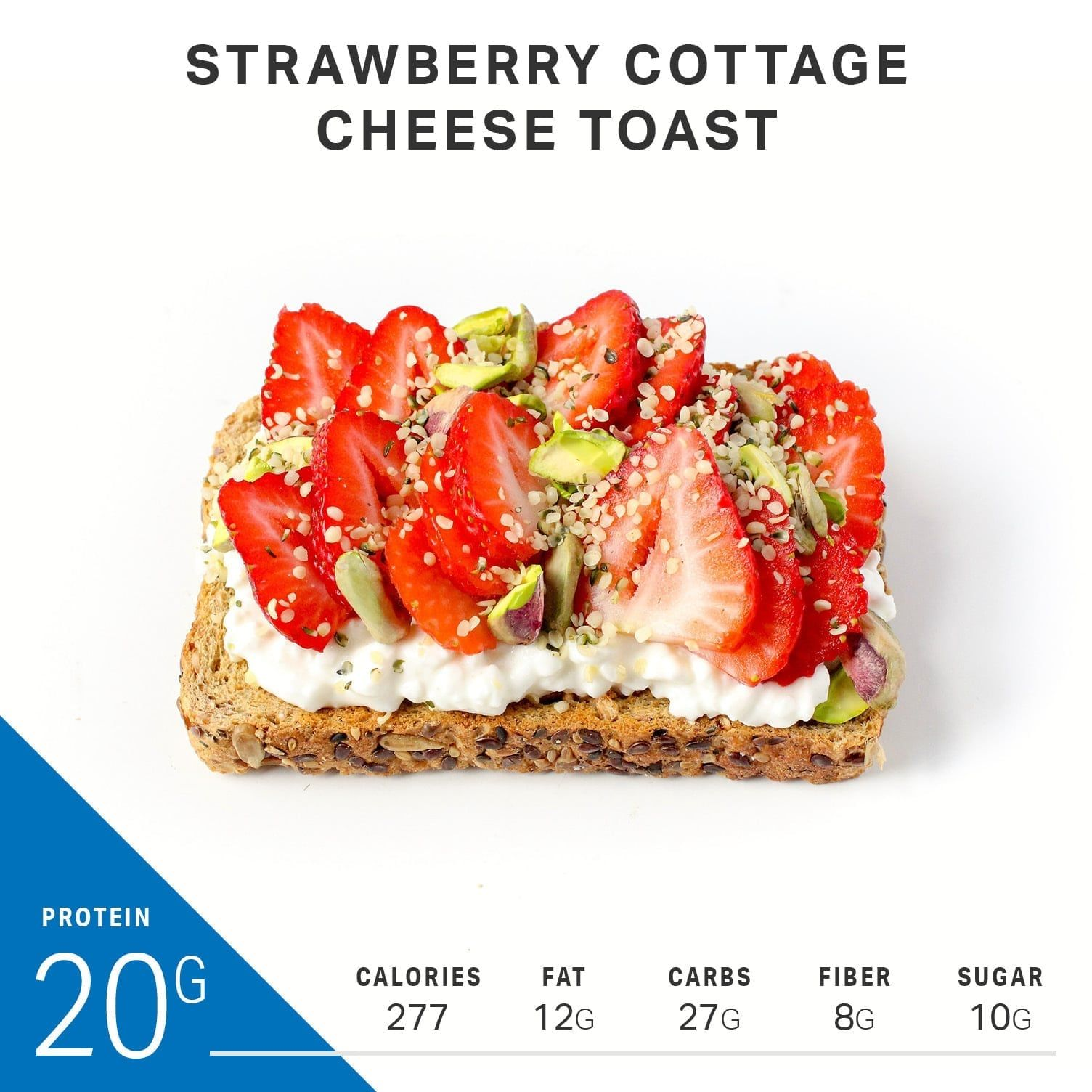 What 20g Protein Breakfast Toasts Look Like Breakfast Pinterest