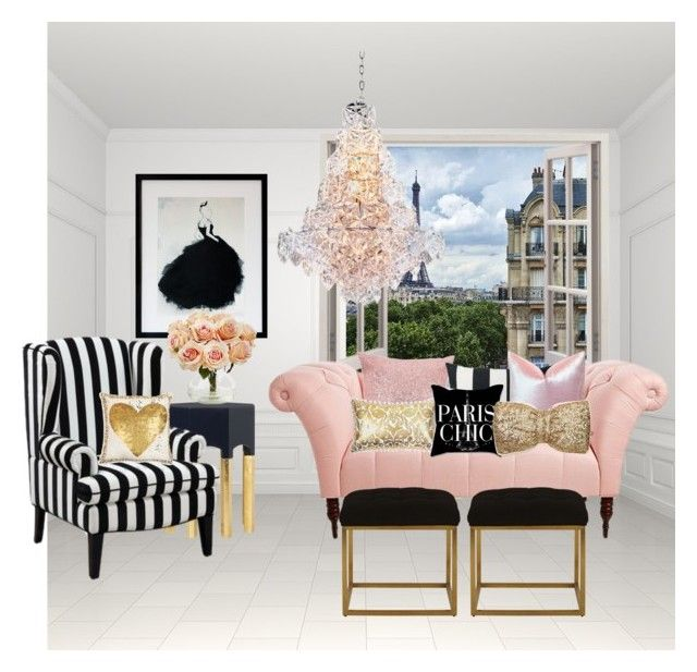 """""""Untitled #198"""" by sweetclairemarie ❤ liked on Polyvore featuring interior, interiors, interior design, home, home decor, interior decorating, Lonely Planet, Eichholtz, SPIRA and Safavieh"""