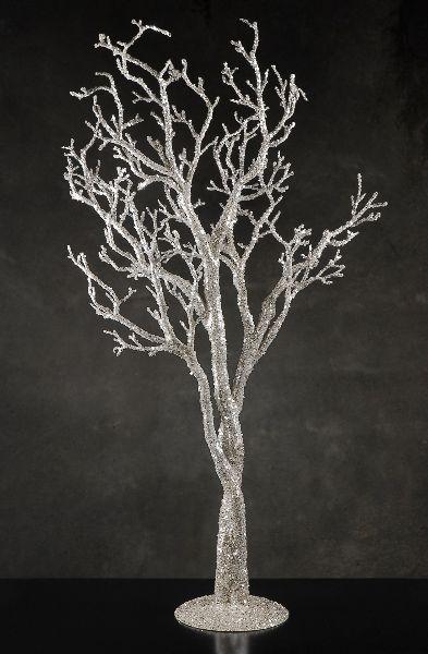 Silver Glitter 38 Quot Potted Manzanita Tree Event Decor