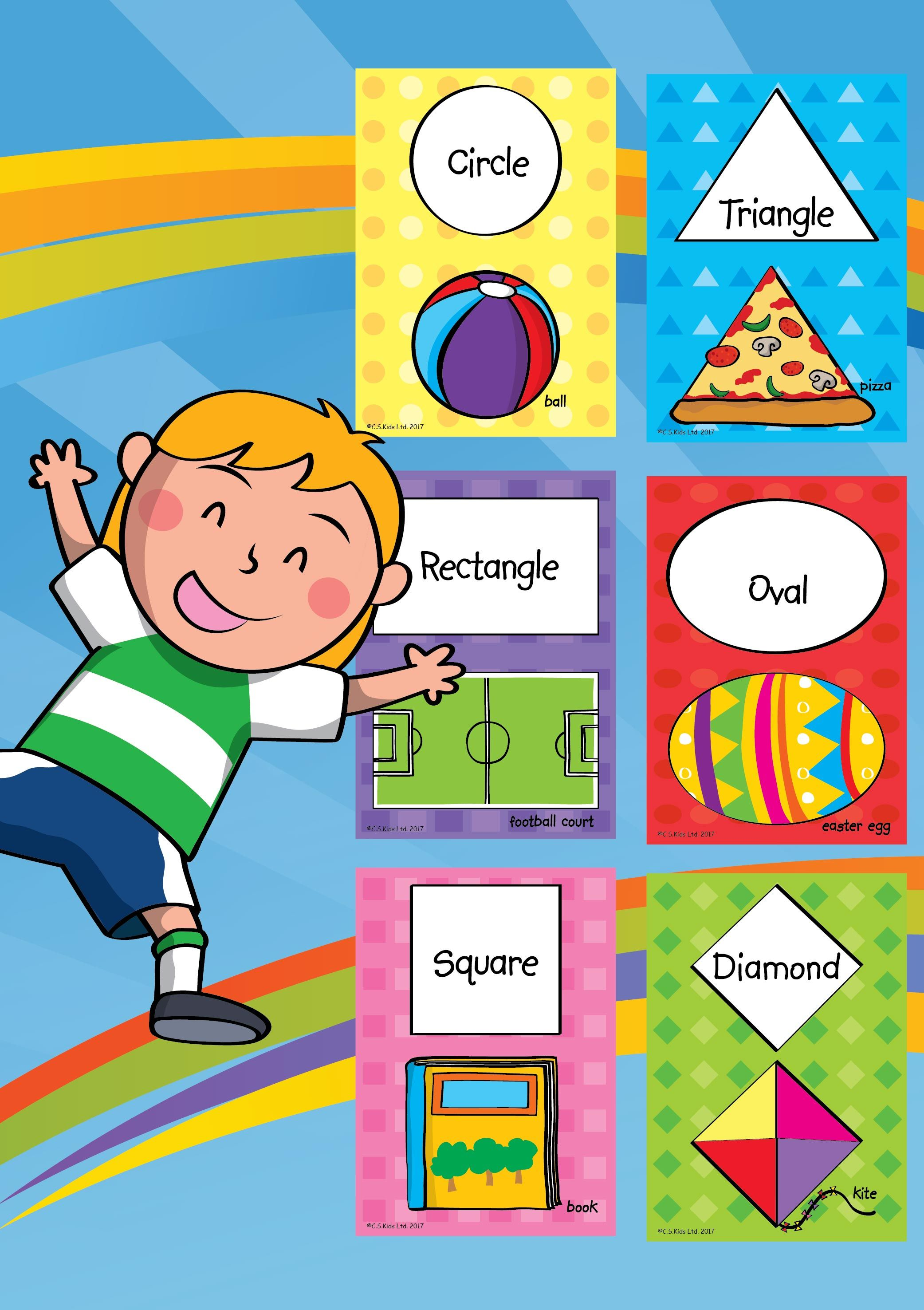 Basic Shapes Flashcards