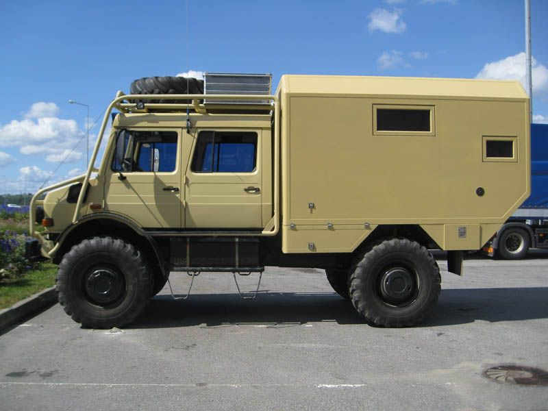 Unimog u1850 camper from russia mercedes benz forum for Mercedes benz camper for sale