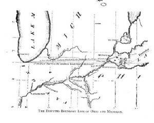 The Toledo War Of 1835 1836 Toledo Ohio History Toledo Ohio