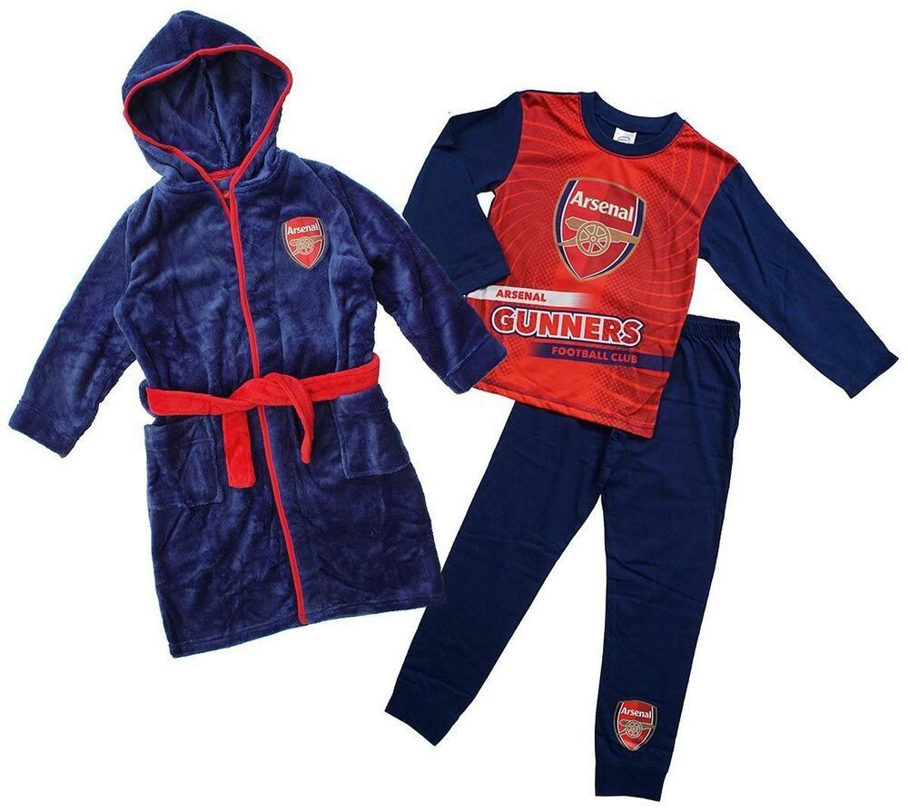 Kids Boys Liverpool FC Club Official Pyjamas Set