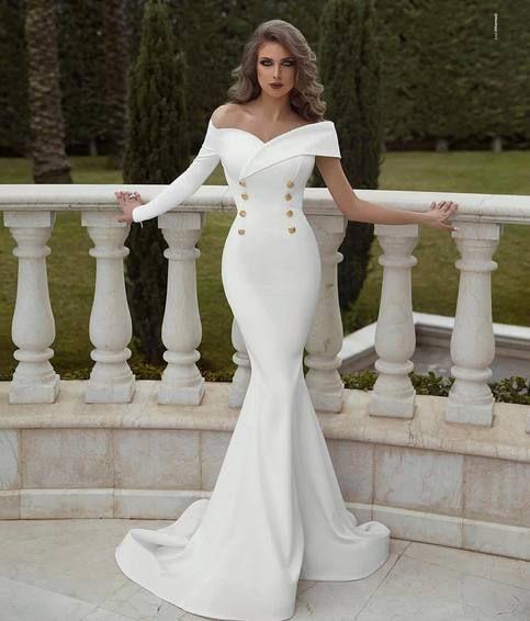 40+ Long white mermaid dress information