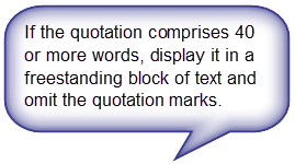 Block Quotes Apa Apa #blocquotes  Study Tips  Pinterest  Apa Style