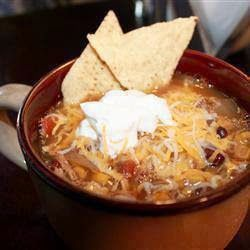 Nice food for every days : Chicken Tortilla Crockpot Soup