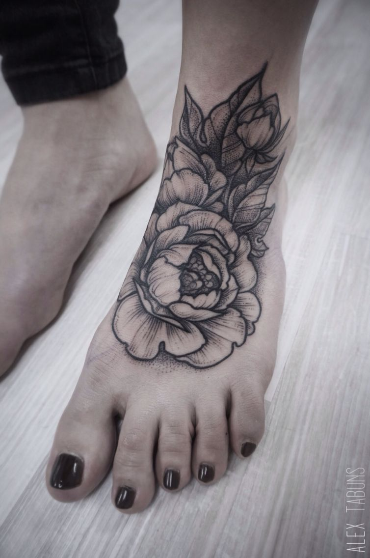 907669d1830d5 peonies tattoo don't like the placement but the tattoo is gorgeous ...