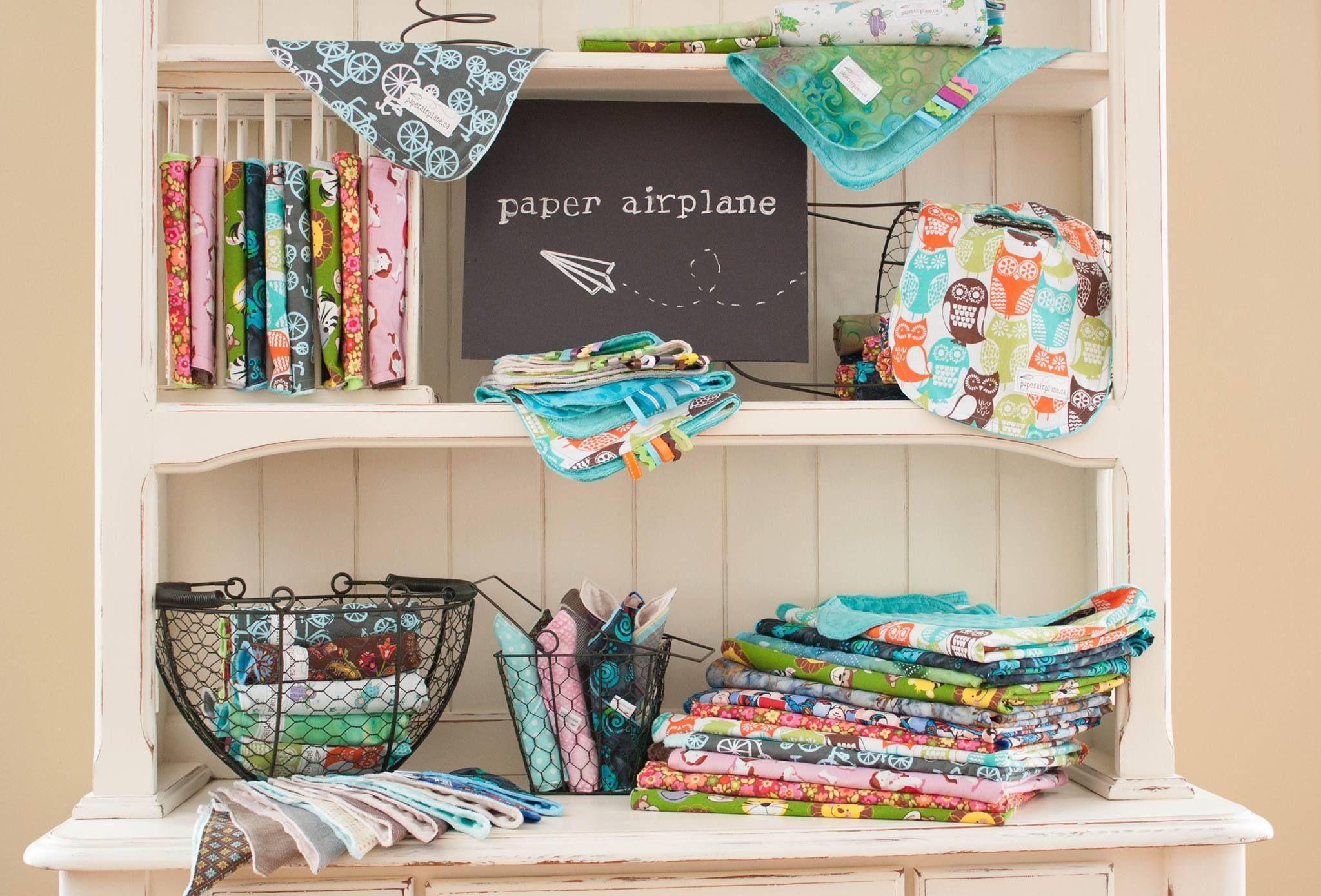 bibs blankets bandanabibs Paper airplanes, Handmade
