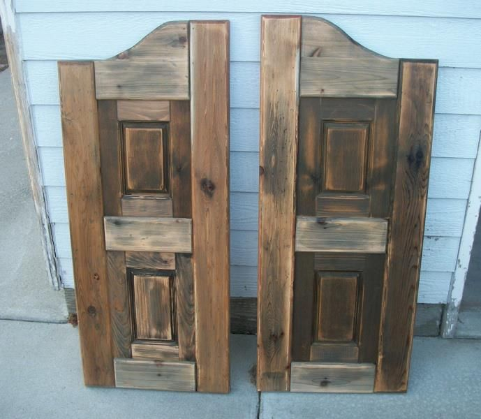 Western Saloon Doors Do It Yourself Home Projects From