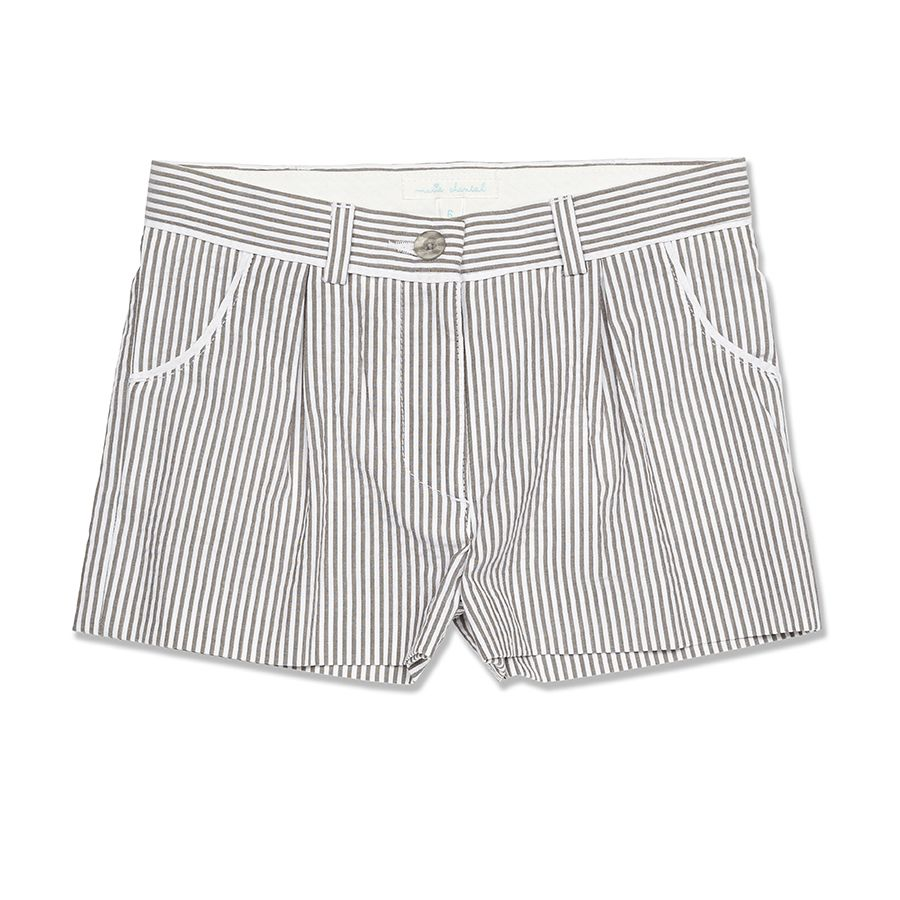 Seersucker Shorts at Marie-Chantal US