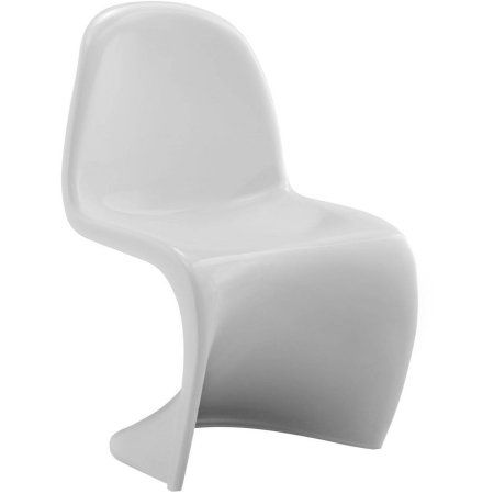 Modway Slither Kids Chair, White