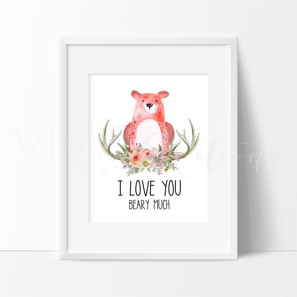 I Love You Beary Much   marcos   Pinterest   Marcos y Dibujo