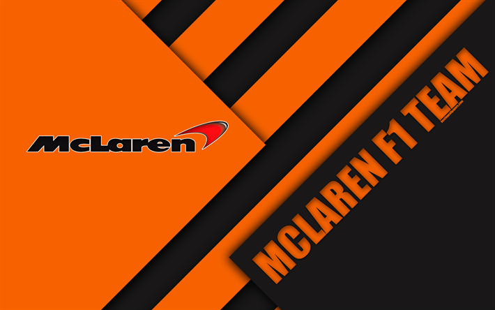 Download wallpapers McLaren F1 Team, Woking, United Kingdom, 4k