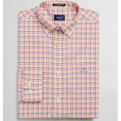 Gant Regular Fit Broadcloth Hemd mit Vichy-Karo (Rosa) Gant