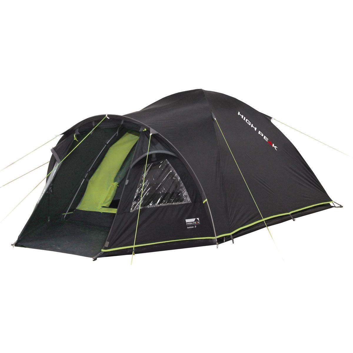 Talos 4 Tente Vert Noir Taille Taille Unique Tente Gonflable Tente Verte Tapis De Sol