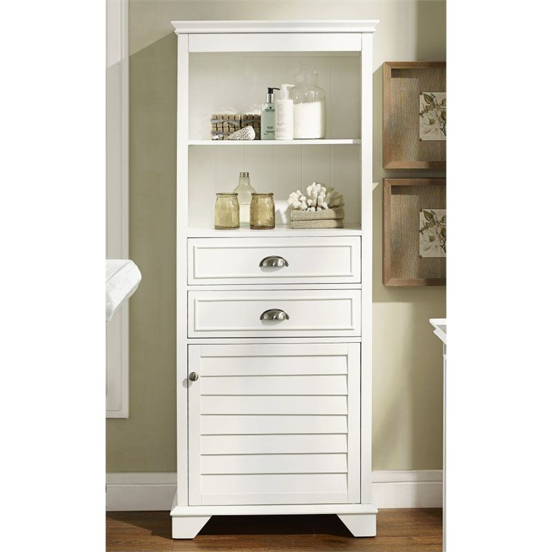 crosley furniture lydia linen cabinet house ideas tall white rh pinterest com