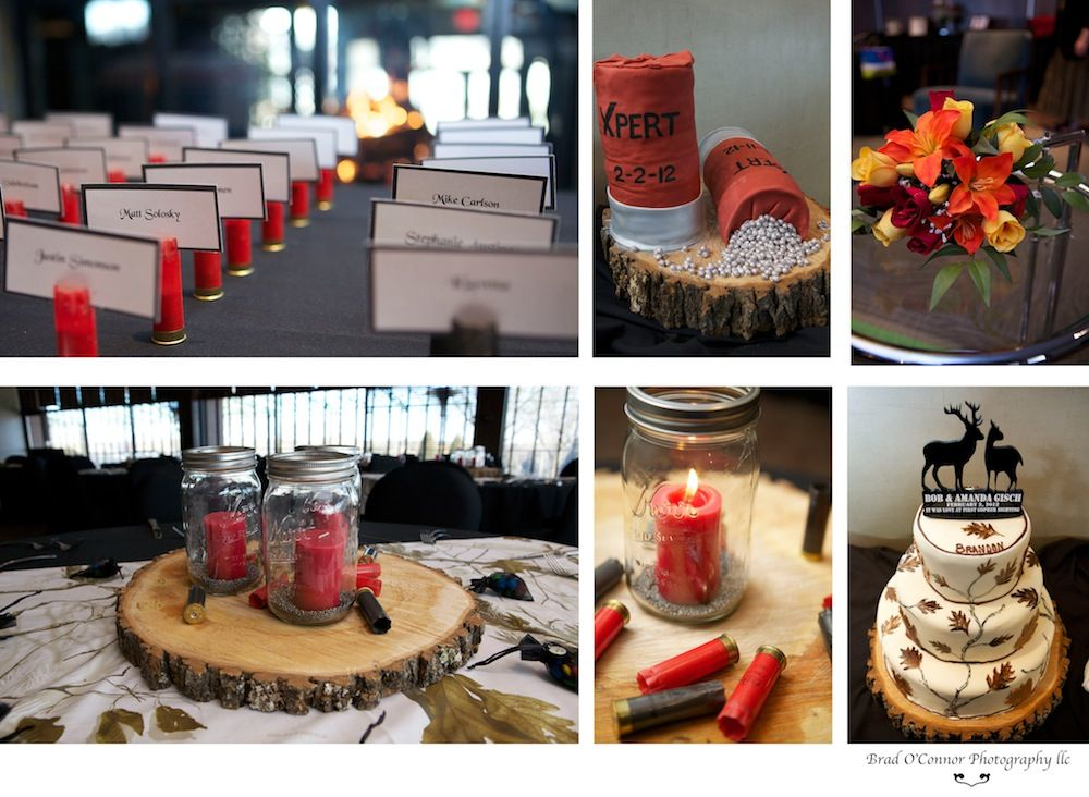Classy Hunting Themed Wedding Details