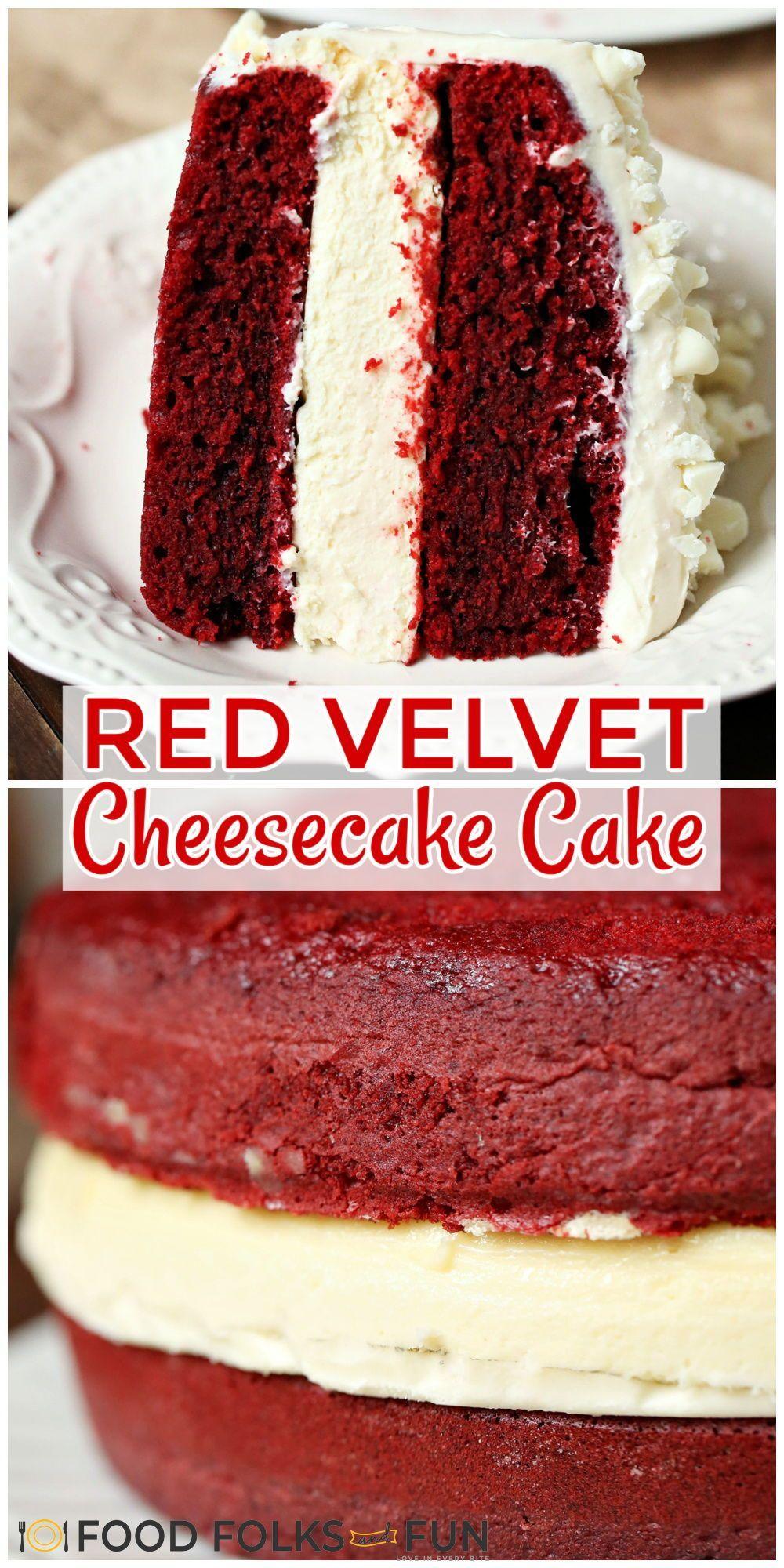 Copycat Cheesecake Factory Red Velvet Cheesecake Cake Recipe Cake Recipes Dessert Recipes Dessert Recipes Easy