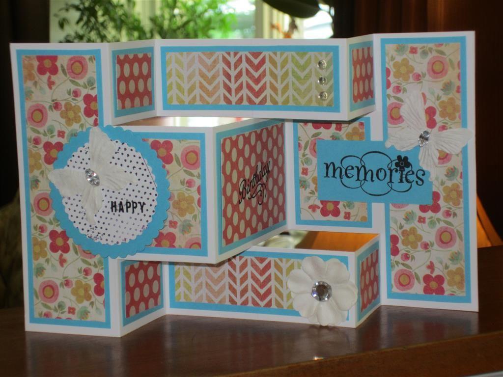 Trifold birthday card Scrapbook – Scrapbook Birthday Cards