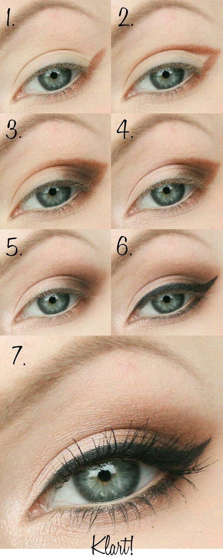 Olhos  make  Pinterest  Makeup Eye and Makeup ideas