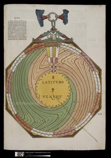 Astrolabe Ostendorfer Michael C 1490 1559 Written By Petrus Apianus Astronomicum Caesareum May 1540 Han Deutsches Museum Astronomie Und Museum