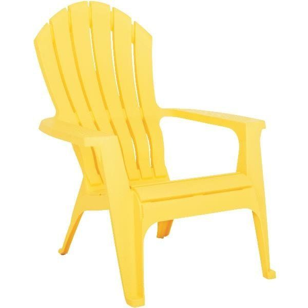 Stackable Plastic Adirondack Chairs