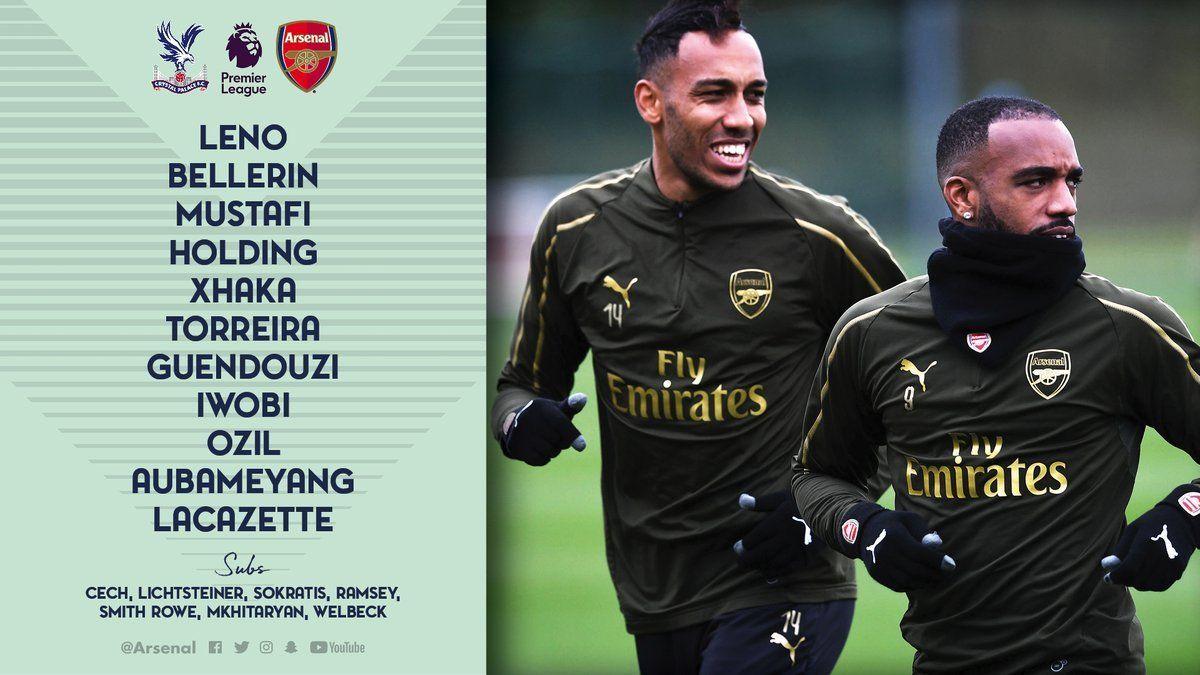 Live Stream Crystal Palace Vs Arsenal Epl Match Day Arsenal Crystal Palace Arsenal News