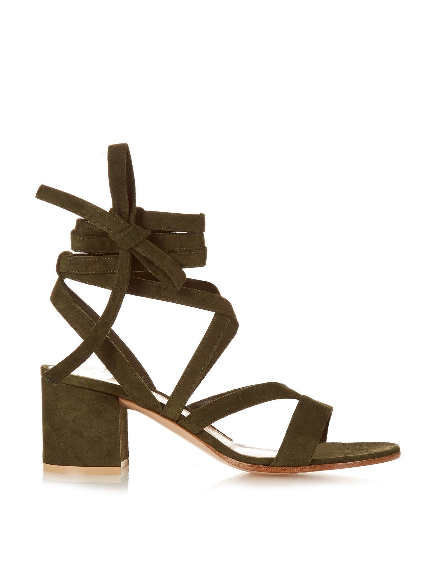 52b7dff8a08 Janis Low suede sandals