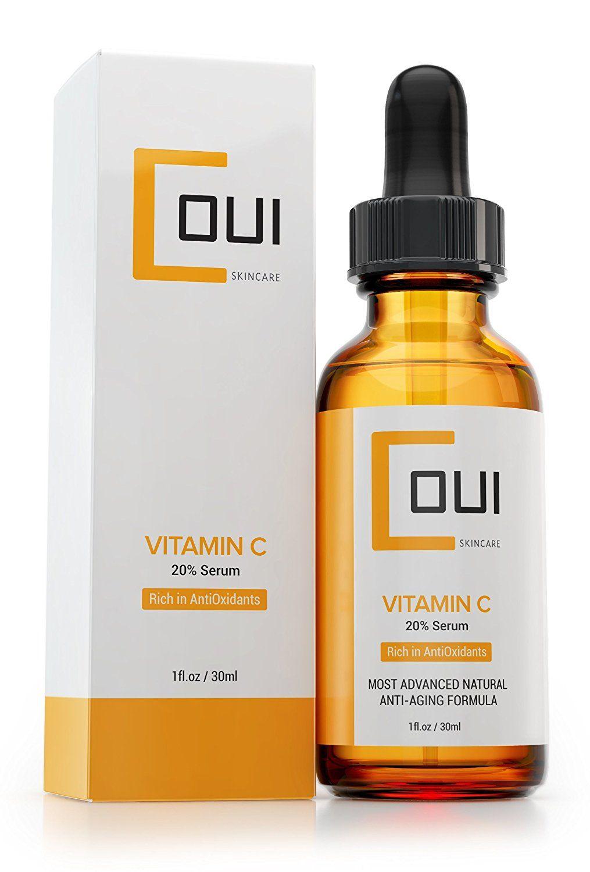 Natural Vitamin C Serum   Professional Anti Aging Skin Care for