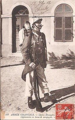 WWI;  Armée coloniale  - Légion étrangère - Légionnaire en tenue de campagne