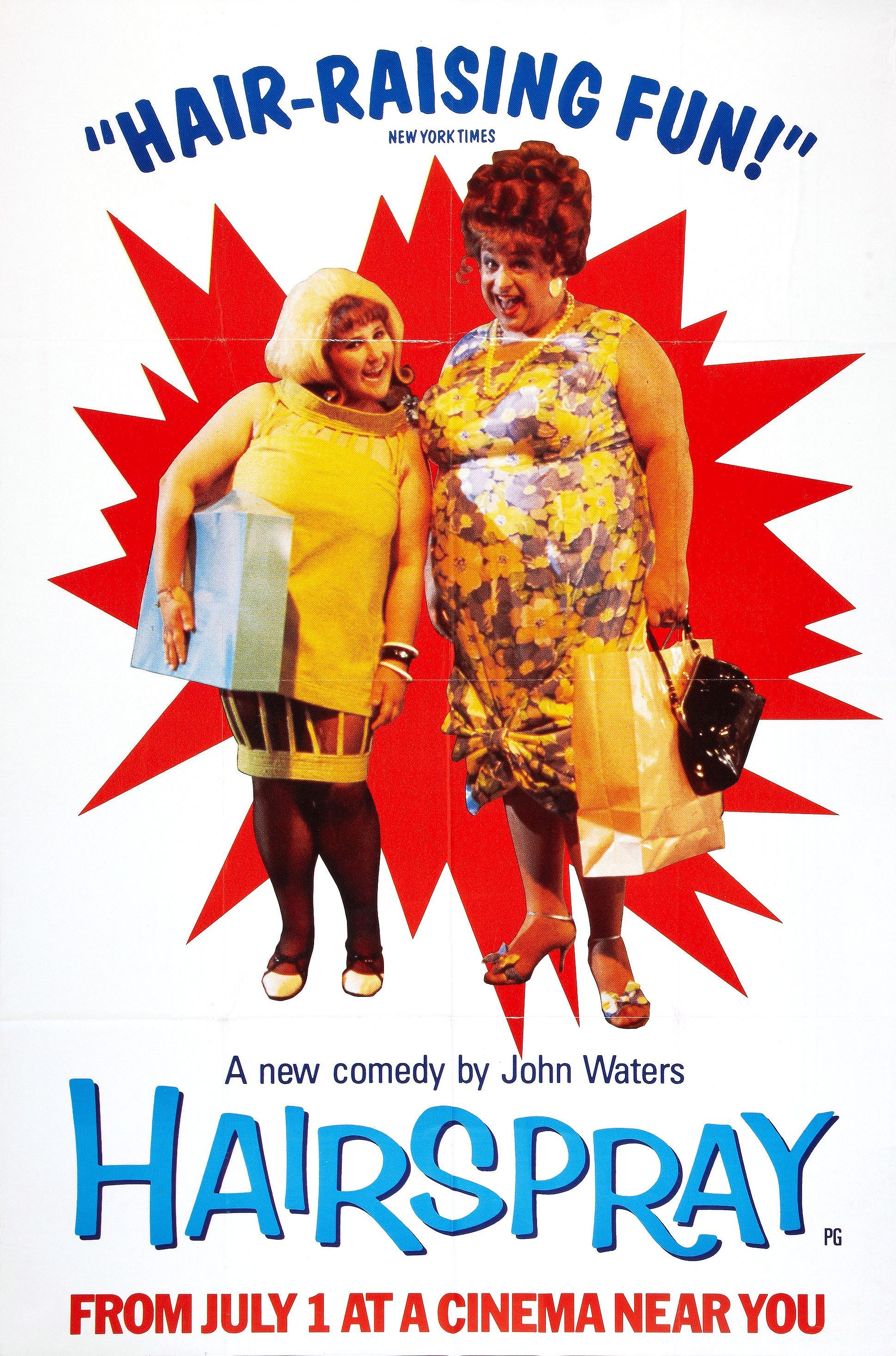 Hairspray Directed by John Waters - 'Pleasantly Plump' teenager Tracy  Turnblad achieves her dream of becoming a regular on the Corny Collins  Dance Show.