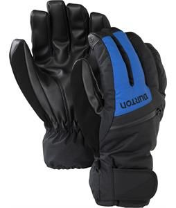 Burton GORE-TEX Glove. True Black/Cyanide Blue.  DRYRIDE Durashell 2L fabric, and a Guaranteed To Keep You Dry GORE-TEX membrane protect this Thermacore insulated glove from burly conditions. The-House.com