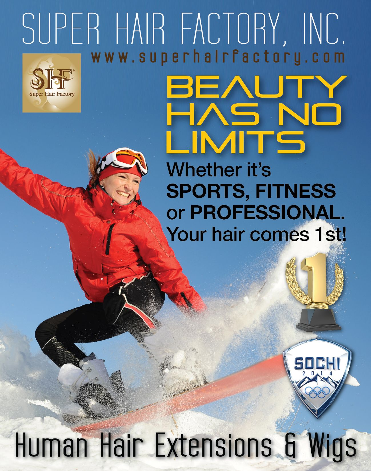 Super Hair Factory Inc All The Best To Our Athletes This Year