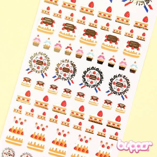 Joy Stickers - Birthday Cake