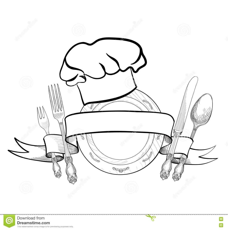 cuisine ustensiles dessin