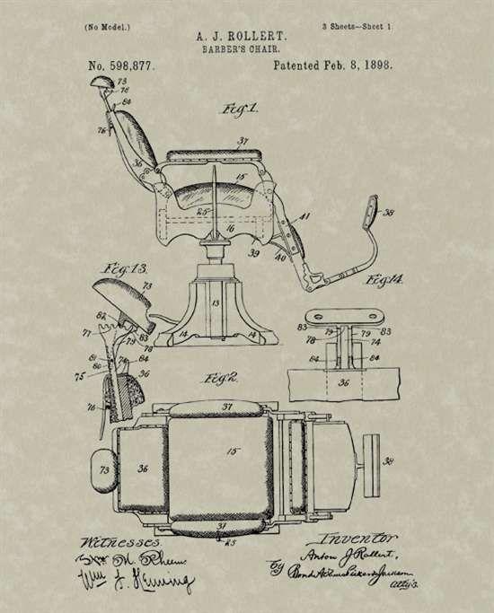 Barber chair blueprints google search salon ideas barber chair blueprints google search malvernweather Choice Image