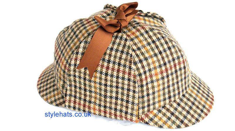 Women s Hat Deerstalker Sherlockholmes Cap Style Hats UK Online Size Medium  Sombreros Masculinos 6618f0af852