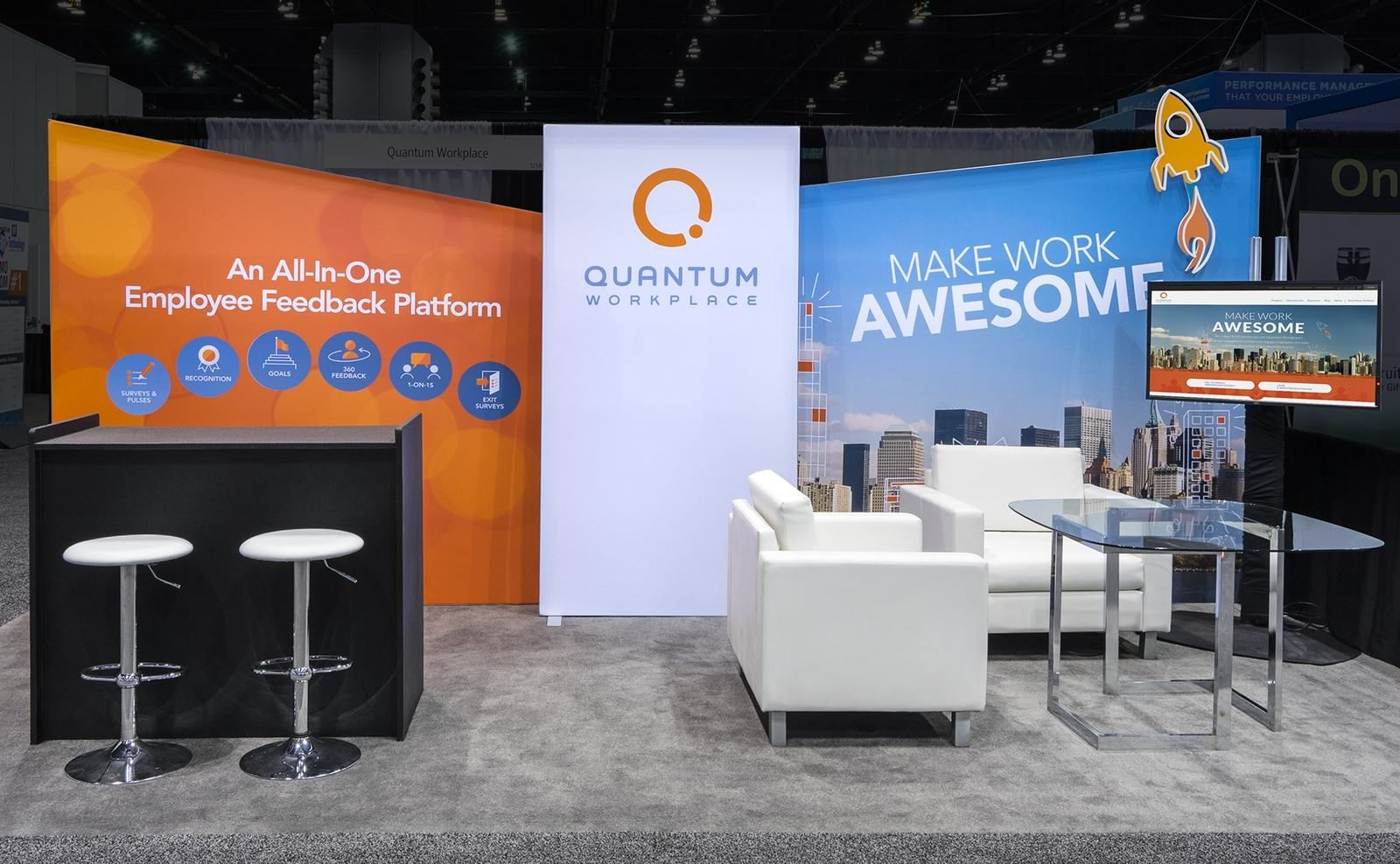 11 Most Appealing (and Effective) Trade Show Booth Design ...