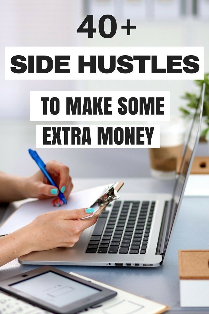 Gotta do a couple of these! 40+ Awesome Side Hustles to Make Some Extra Money