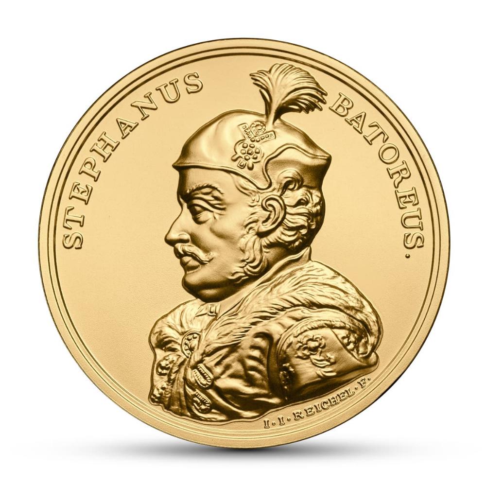 Zlota Moneta 500 Zl Stefan Batory Zlote Monety Kolekcjonerskie Numizmatyczny Com Gold Coinage Silver Coins Gold Coins