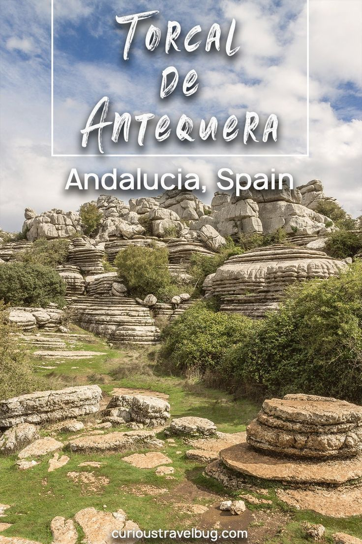 El Torcal de Antequera Hiking Trail in Southern Spain #travelbugs