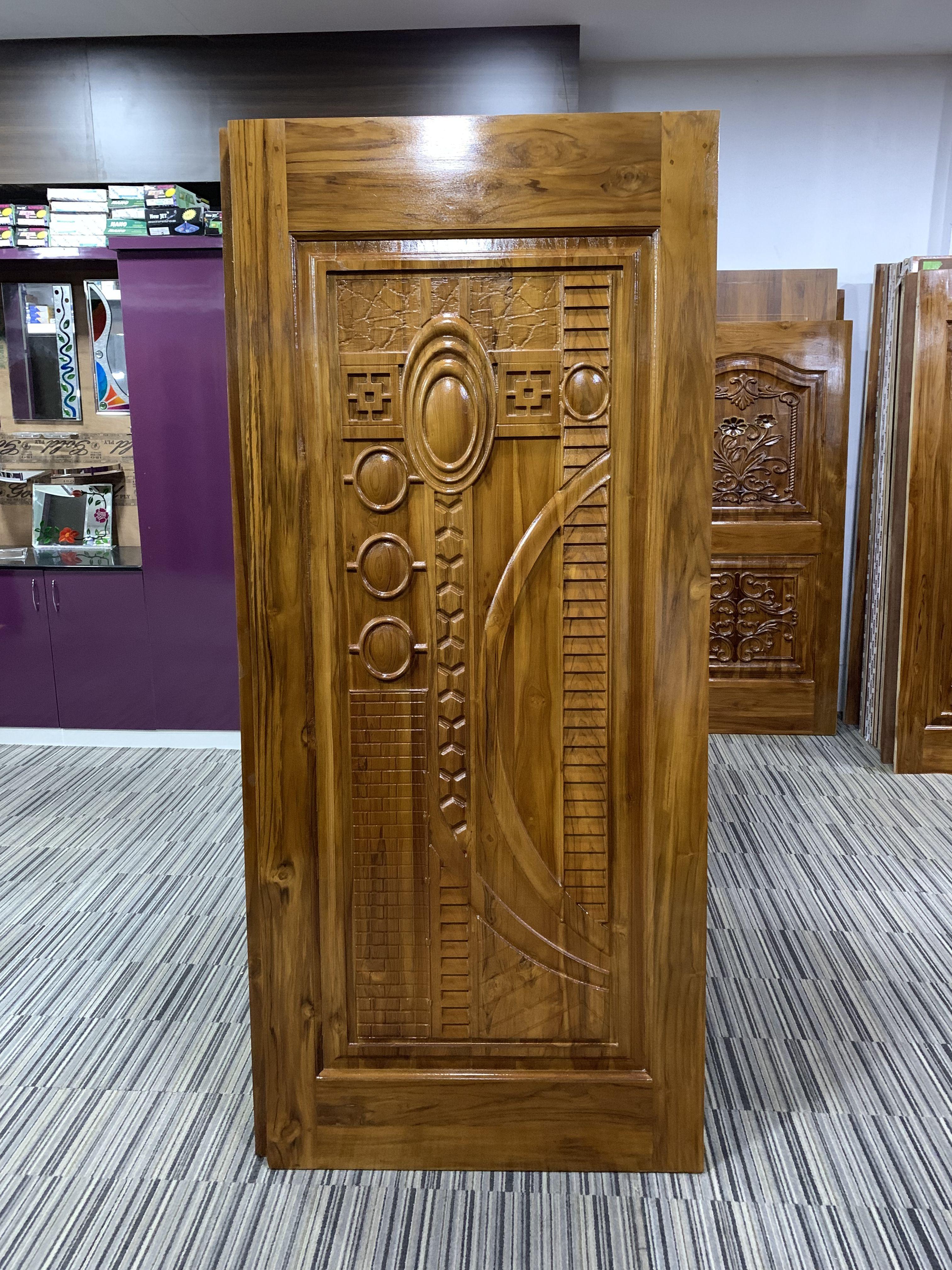 Classical Wooden Single Door Designs For Room: Wooden Main Door Design By Virginia Hagen On Fab Refurn
