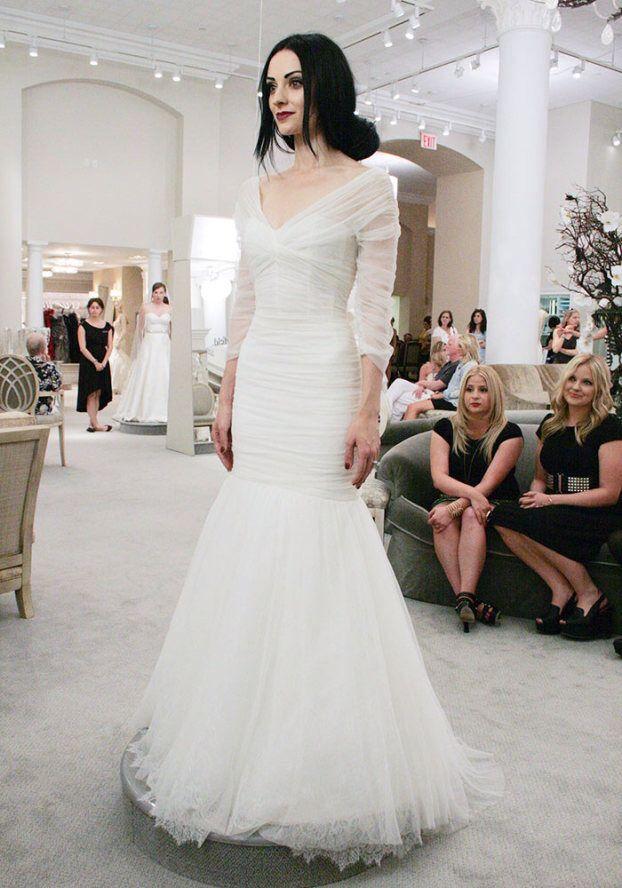 Tlc Official Site Monique Lhuillier Wedding Dress Wedding Dresses Wedding Dress Inspiration