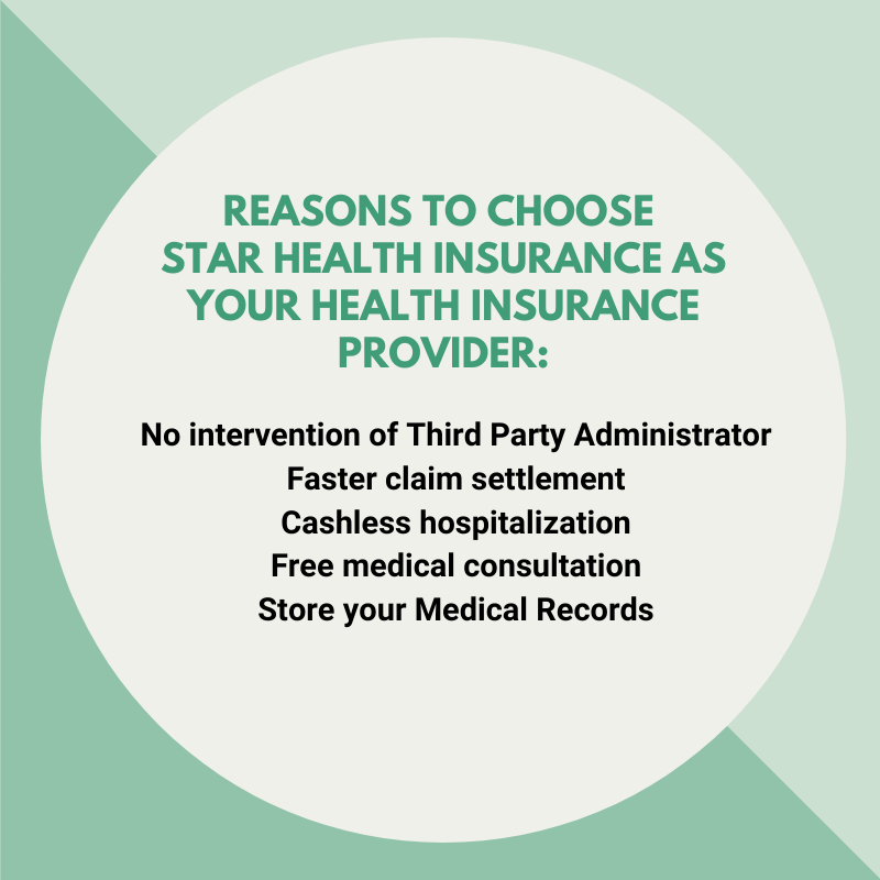 Reasons to choose Star Health Insurance as your health ...